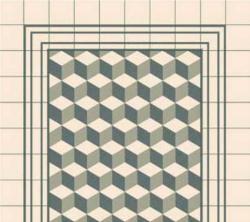 Authentiek patroon keramische tegels