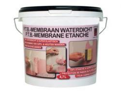 Waterdichte coating voor douches