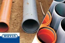 Wavin PVC buizen en toebehoren